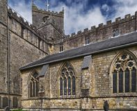 Cartmel Priory Stock Photo