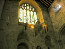 Cartmel Priory. Royalty Free Stock Photo