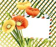 Cartão 02 Foto de Stock