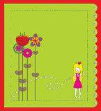 Cartão Imagens de Stock Royalty Free