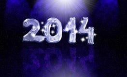 cartão 2014 Fotografia de Stock Royalty Free