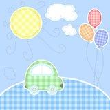 Cartão bonito do bebê Foto de Stock Royalty Free