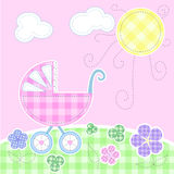 Cartão bonito do bebê Foto de Stock