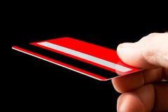 Cartão de crédito Fotos de Stock