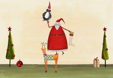 Cart?o de Natal Fotografia de Stock