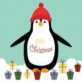Cartão de Natal Fotografia de Stock
