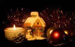 Cartão de Natal Fotos de Stock Royalty Free