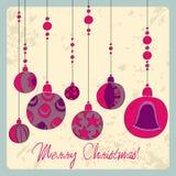 Cartão de Natal bonito Foto de Stock