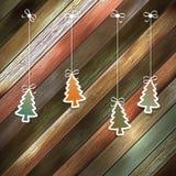 Cartão do ano novo para o molde do projeto do feriado. EPS 10 Imagens de Stock