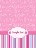 Cartão do bebê Foto de Stock Royalty Free