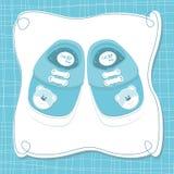 Cartão do bebé do vetor Fotografia de Stock Royalty Free