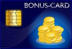 Cartão do bônus Imagem de Stock Royalty Free
