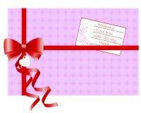 Cartão do dia de matriz. Fotos de Stock