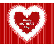Cartão do dia de MotherFoto de Stock