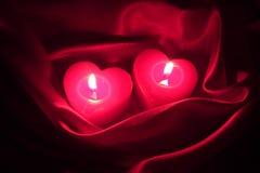 Cartão do feriado do dia de Valentim - foto conservada em estoque Foto de Stock