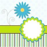 Cartão do molde, vetor Imagens de Stock