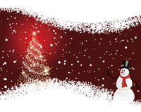 Cartão do Natal (ano novo) Imagens de Stock