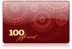 Cartão do presente Fotos de Stock Royalty Free