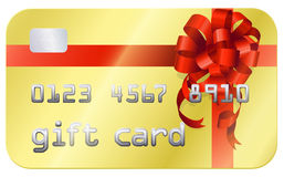 Cartão do presente Fotografia de Stock