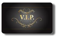 Cartão do VIP Fotografia de Stock