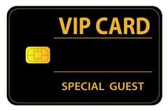 Cartão do VIP Foto de Stock Royalty Free