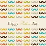Cartão feliz do dia de pai Imagens de Stock Royalty Free