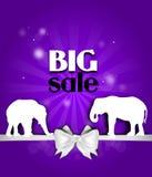 Cartão grande da venda Foto de Stock Royalty Free