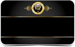 Cartão superior do vip Fotos de Stock Royalty Free