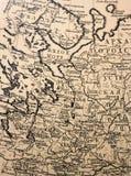 Cartografia antiga - a velho ilustração royalty free