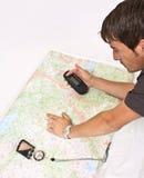 cartographie Photos libres de droits