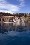 Cartolina 1 di Ohrid fotografia stock libera da diritti