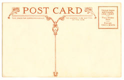 Cartolina - 1910 Immagini Stock