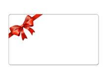 Cartolina astratta dei globi di Natale - giftcards Immagini Stock Libere da Diritti