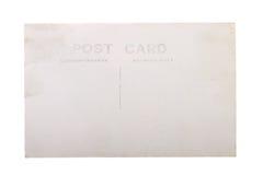 Cartolina in bianco d'annata Fotografia Stock