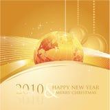 cartolina d'auguri 2010 di affari illustrazione di stock