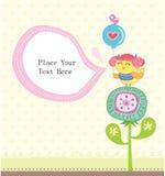 Cartolina d'auguri bella Fotografia Stock