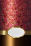 Cartolina d'auguri con le rose Immagine Stock Libera da Diritti