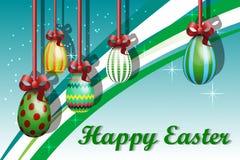 Cartolina d'auguri con Pasqua Immagine Stock Libera da Diritti