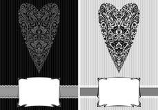 Cartolina d'auguri d'annata di amore illustrazione vettoriale