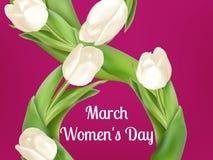Cartolina d'auguri del giorno delle donne ENV 10 royalty illustrazione gratis