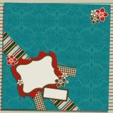 Cartolina d'auguri del modello Fotografie Stock