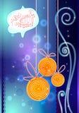 Cartolina d'auguri del nuovo anno Fotografia Stock Libera da Diritti