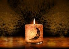 Cartolina d'auguri del Ramadan nella progettazione unica Immagine Stock