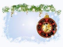 Cartolina d'auguri della mazza di Natale Fotografia Stock Libera da Diritti
