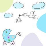 Cartolina d'auguri di abbozzo Fotografia Stock