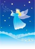 Cartolina d'auguri di angelo Fotografie Stock