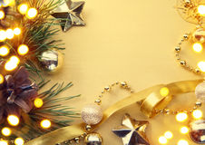 Cartolina d'auguri di Art Christmas Immagini Stock Libere da Diritti