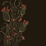 Cartolina d'auguri di Beuty Immagini Stock