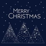 Cartolina d'auguri di Buon Natale Immagini Stock Libere da Diritti