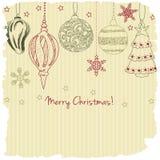 2015, cartolina d'auguri di Buon Natale royalty illustrazione gratis